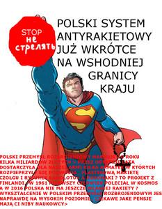 Polski system antyrakietowy Superman1