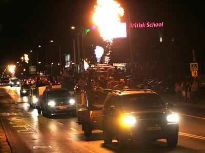 Parada baloniarzy centrum miasta 5