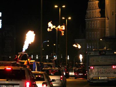Parada baloniarzy centrum miasta 9