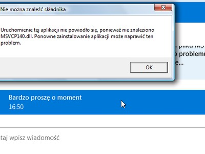 Problem z Skype...
