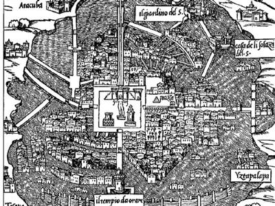 Tenochtitlan wg Europejczyków 1