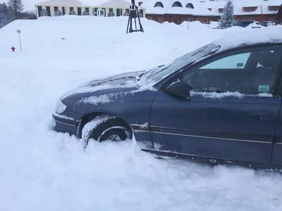 Zima w bieszczadach 1