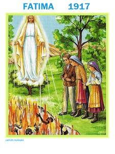 Maryja Królowa Polski srogo potępia grzeszników w Fatimie