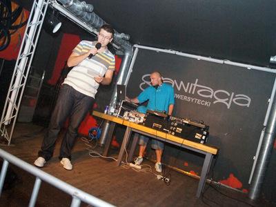 Impreza hip-hopowa w klubie Grawitacja w Olsztynie 2