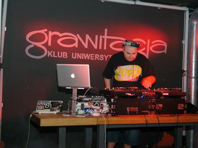 Impreza hip-hopowa w klubie Grawitacja w Olsztynie 3