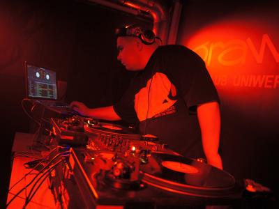 Impreza hip-hopowa w klubie Grawitacja w Olsztynie 5