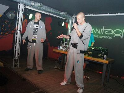 Impreza hip-hopowa w klubie Grawitacja w Olsztynie 7