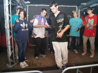 Impreza hip-hopowa w klubie Grawitacja w Olsztynie 9