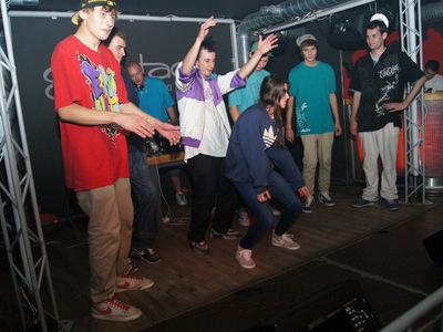 Impreza hip-hopowa w klubie Grawitacja w Olsztynie 11
