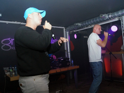 Impreza hip-hopowa w klubie Grawitacja w Olsztynie 14