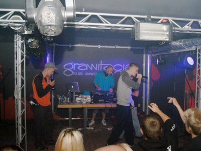 Impreza hip-hopowa w klubie Grawitacja w Olsztynie 16