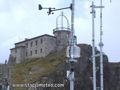 Stacja meteo na Kasprowym Wierchu