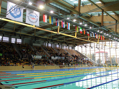 Zawody pływackie w Olsztynie 1