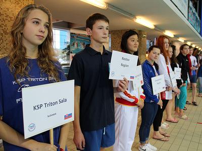Zawody pływackie w Olsztynie 13