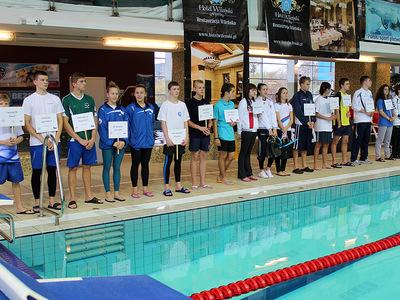 Zawody pływackie w Olsztynie 14