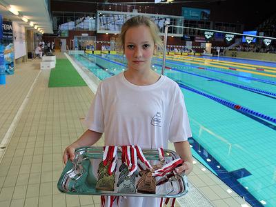 Zawody pływackie w Olsztynie 16