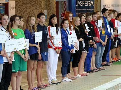 Zawody pływackie w Olsztynie 19