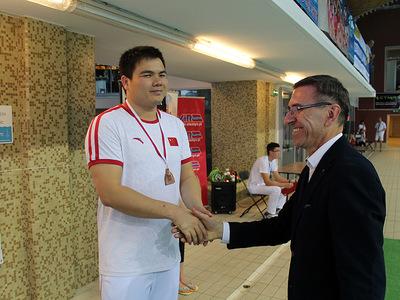 Zawody pływackie w Olsztynie 31