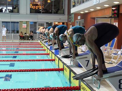 Zawody pływackie w Olsztynie 48