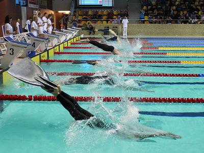 Zawody pływackie w Olsztynie 85