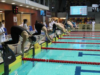 Zawody pływackie w Olsztynie 86