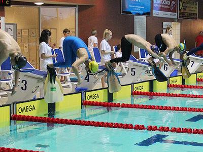 Zawody pływackie w Olsztynie 89