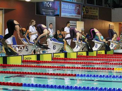 Zawody pływackie w Olsztynie 108