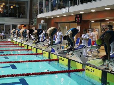 Zawody pływackie w Olsztynie 144