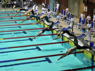 Zawody pływackie w Olsztynie 149