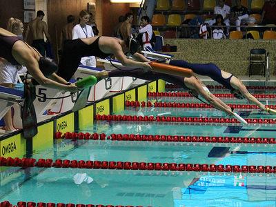 Zawody pływackie w Olsztynie 152