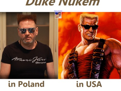 USA vs Poland - Duke Nukem