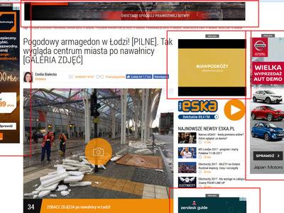 Reklamy na portalu eska.pl