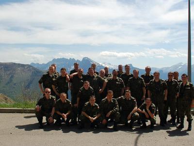 orkiestra wojskowa rzeszów Las Sallete Rhone A