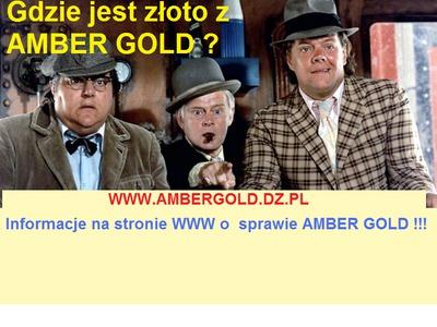 Strona WWW o AMBER GOLD