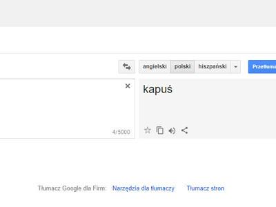 zaskakujące tłumaczenie