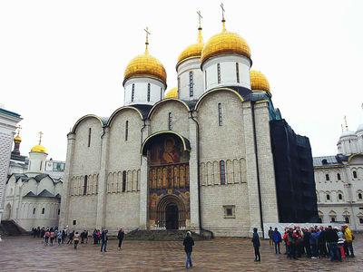 Cerkiew w Moskwie.
