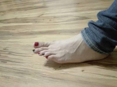 Stopy długie palce 2