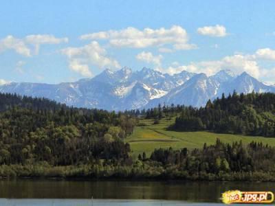 Tatry i zalew Czorsztyński