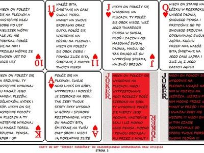 Erotyczna gra karciana na wieczór panieński - strona 3 - karty do gry
