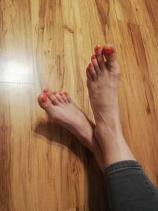Stopy - długie palce 3