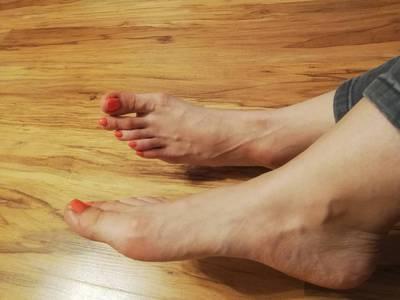 Stopy - długie palce 5