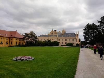 Pałac ks. Lichtenstein w Lednicach (Morawy) 2