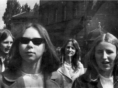 1957 1972 1976 Zofia Panek (Dörfler) Halina Nowak (Gargała)