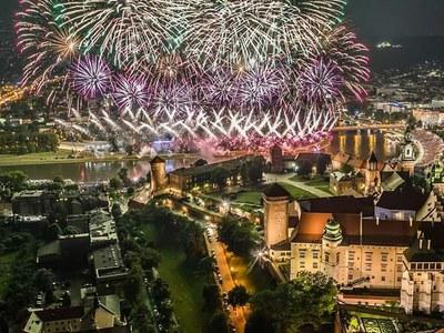 Kraków jest piękny nocą 1