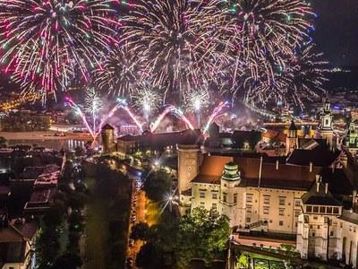 Kraków jest piękny nocą 2