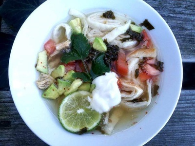 Tortilla Lemon Soup