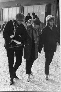 1971 Ela L anda J Jerzy Barbara Zach (Ratynska) Maryla Grzebala i Maryla Rabo, styczen
