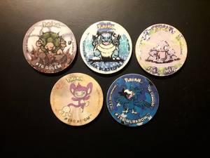 Pokemony Tazo 15
