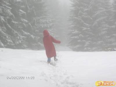 wejscie na sniezke z przeleczy okraj
