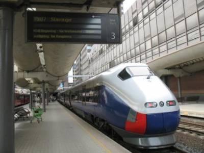 Pociąg relacji Oslo-Stavanger